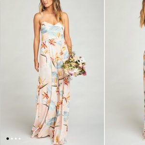 Paradise Party Bridesmaid Dress